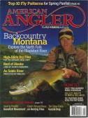 Jonathan Greensmith on cover of American Angler